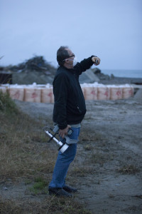 Dan Sythe in Iwaki, Fukushima Prefecture, December 2011